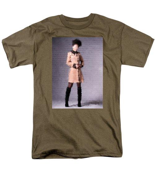 Men's T-Shirt  (Regular Fit) featuring the digital art Fiona by Nancy Levan