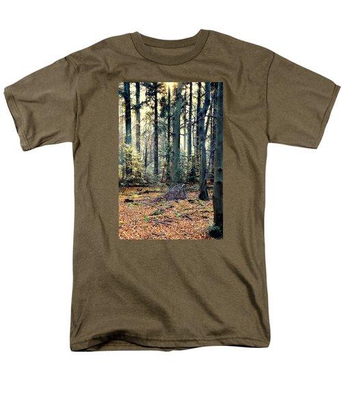 Fir Forest-2 Men's T-Shirt  (Regular Fit) by Henryk Gorecki