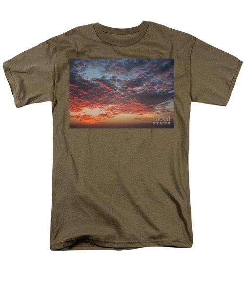 Fire Sky Men's T-Shirt  (Regular Fit) by Ana Mireles