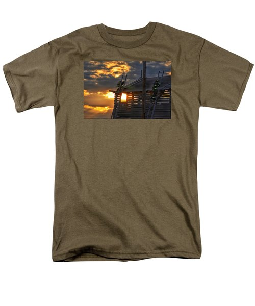 Men's T-Shirt  (Regular Fit) featuring the photograph Firefighters In Training by Nikki McInnes