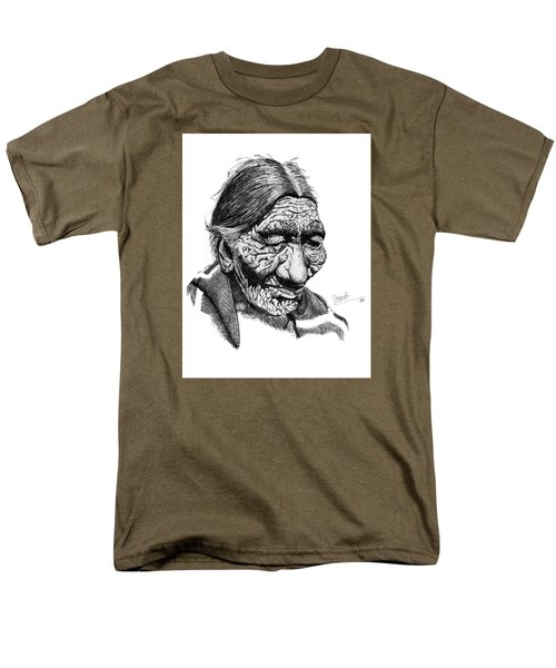 First 100 Years Men's T-Shirt  (Regular Fit) by Lawrence Tripoli
