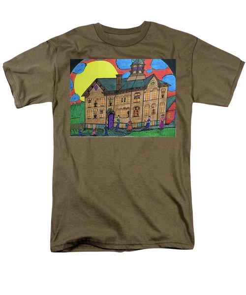 First Menominee High School. Men's T-Shirt  (Regular Fit) by Jonathon Hansen