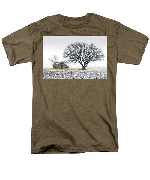 Winter's Approach Men's T-Shirt  (Regular Fit) by Christopher McKenzie