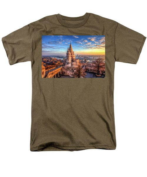 Fisherman's Bastion In Budapest Men's T-Shirt  (Regular Fit) by Shawn Everhart