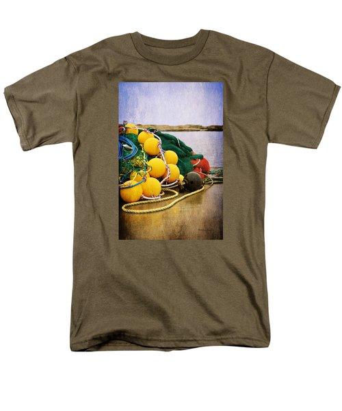Fisherman's Net Men's T-Shirt  (Regular Fit) by Randi Grace Nilsberg