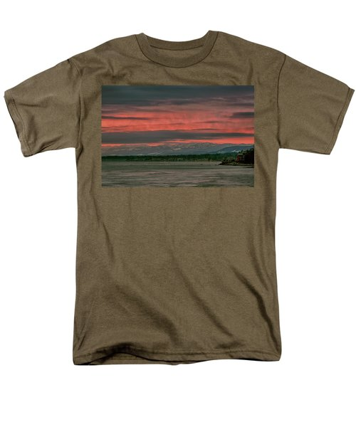 Men's T-Shirt  (Regular Fit) featuring the photograph Fishermans Wharf Sunrise by Randy Hall