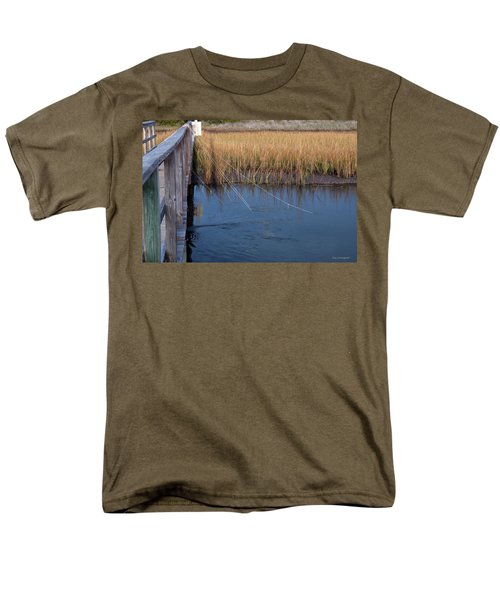 Fishin' Lines Men's T-Shirt  (Regular Fit) by Kay Lovingood