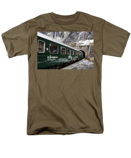 Flam Railway Men's T-Shirt  (Regular Fit) by Suzanne Luft