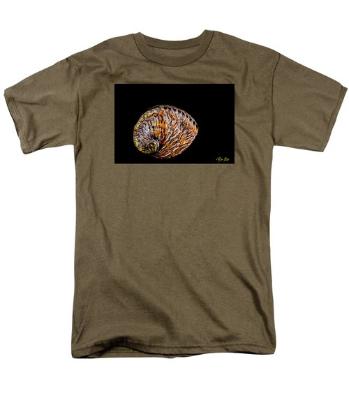 Men's T-Shirt  (Regular Fit) featuring the photograph Flame Abalone by Rikk Flohr
