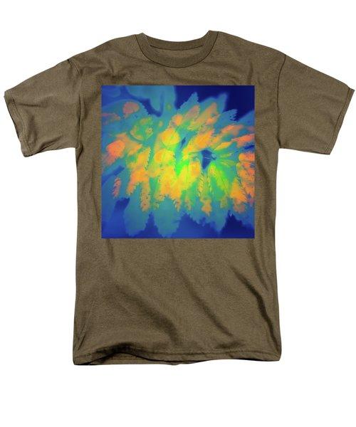 Men's T-Shirt  (Regular Fit) featuring the photograph Flaming Foliage 2 by Ari Salmela