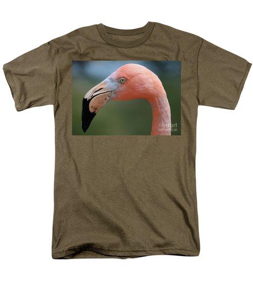 Flamingo Protrait Men's T-Shirt  (Regular Fit) by Marty Fancy