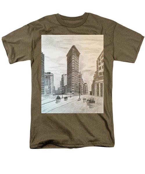 Flatiron Study Men's T-Shirt  (Regular Fit)