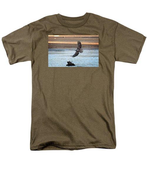 Flight Lessons Men's T-Shirt  (Regular Fit) by Sabine Edrissi