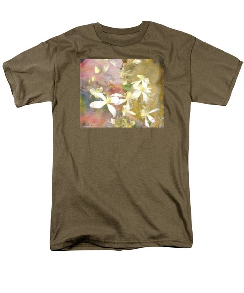 Floating Petals Men's T-Shirt  (Regular Fit) by Colleen Taylor