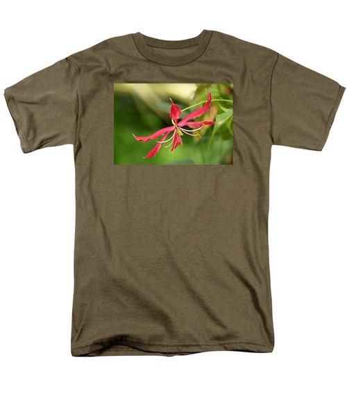 Floral Flair Men's T-Shirt  (Regular Fit) by Deborah  Crew-Johnson