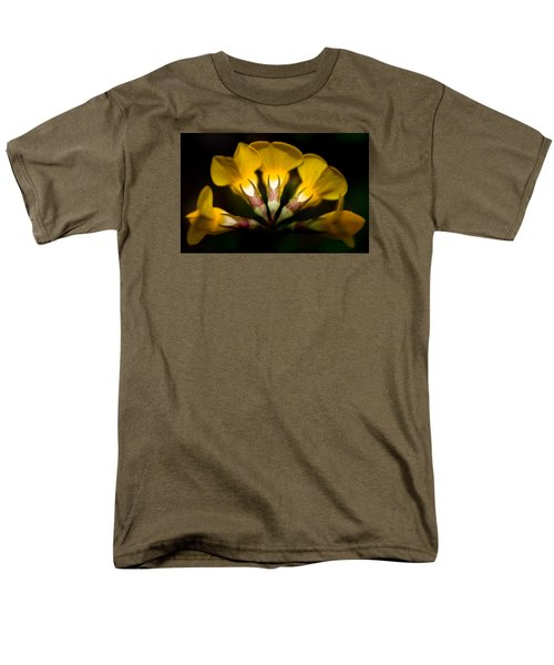 Flower Candelabra Men's T-Shirt  (Regular Fit) by Adria Trail