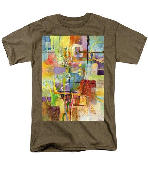 Flower Dance Men's T-Shirt  (Regular Fit) by Hailey E Herrera