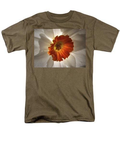Flower Narcissus Men's T-Shirt  (Regular Fit) by Nancy Griswold