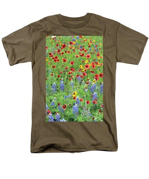 Flower Quilt Men's T-Shirt  (Regular Fit) by Joe Jake Pratt