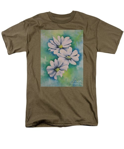 Men's T-Shirt  (Regular Fit) featuring the painting Flowers For You by Chrisann Ellis