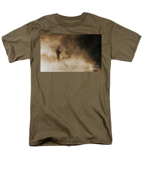 Men's T-Shirt  (Regular Fit) featuring the photograph Flying Fishing by Iris Greenwell