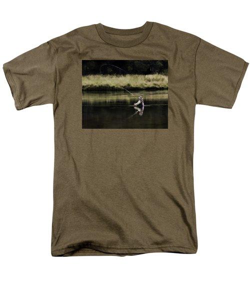 Flying Solo Men's T-Shirt  (Regular Fit) by Elizabeth Eldridge