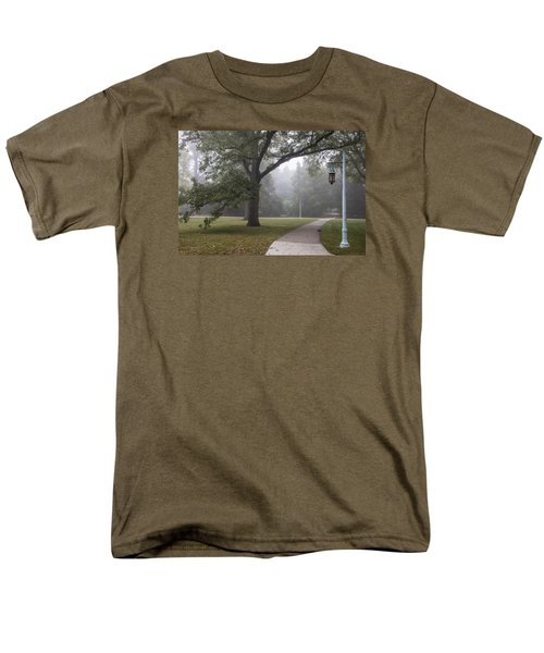 Foggy Campus  Men's T-Shirt  (Regular Fit) by John McGraw