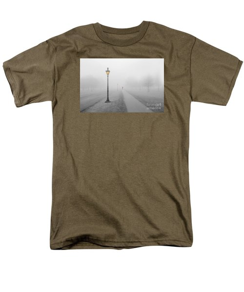 Foggy Day In France Men's T-Shirt  (Regular Fit) by Jim  Hatch