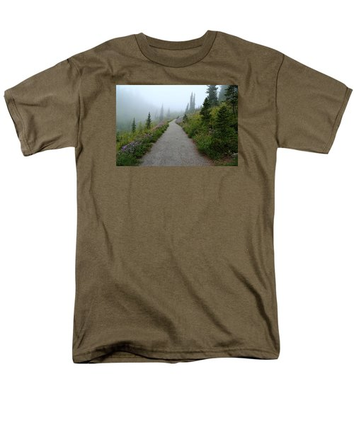 Men's T-Shirt  (Regular Fit) featuring the photograph Foggy In Paradise by Lynn Hopwood