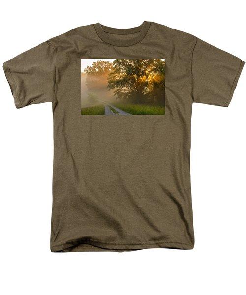 Fogy Summer Morning Men's T-Shirt  (Regular Fit) by Ulrich Burkhalter