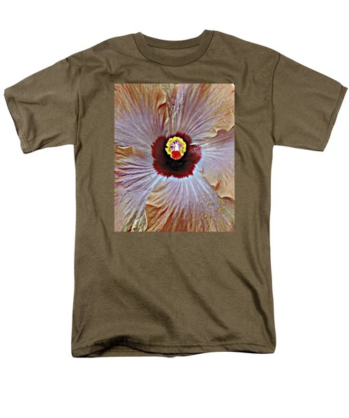 Men's T-Shirt  (Regular Fit) featuring the photograph Folding Petals by Peggy Stokes