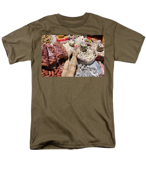 Food Market Men's T-Shirt  (Regular Fit) by Aidan Moran