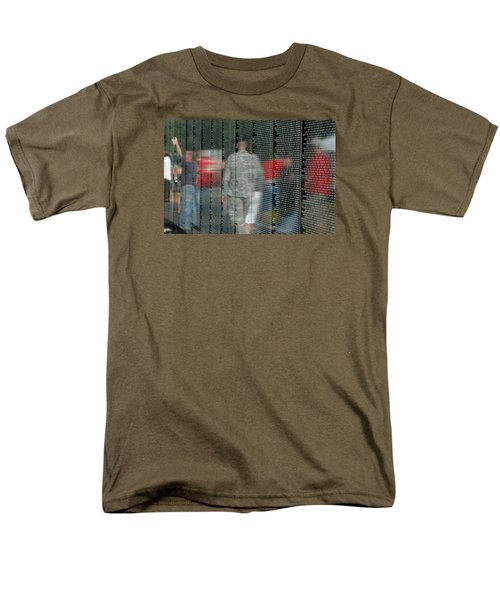 For My Country Men's T-Shirt  (Regular Fit) by Carolyn Marshall