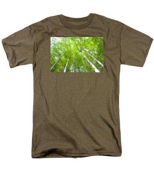 Men's T-Shirt  (Regular Fit) featuring the photograph Forest 1 by Jean Bernard Roussilhe
