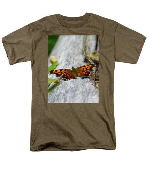 Forest Fritillary Men's T-Shirt  (Regular Fit) by KD Johnson