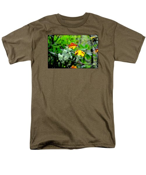 Men's T-Shirt  (Regular Fit) featuring the photograph Forest Little Wonders by Tanya Searcy