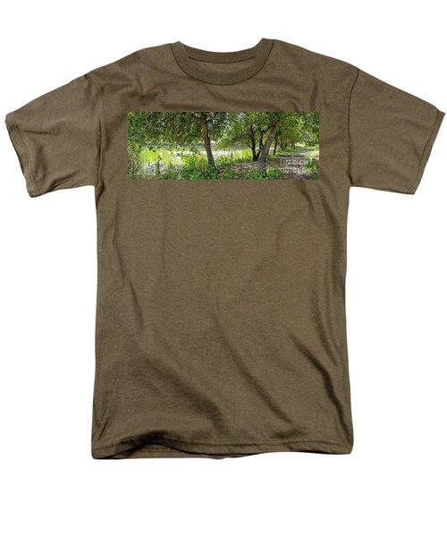Forest Trail Men's T-Shirt  (Regular Fit) by Arik Baltinester