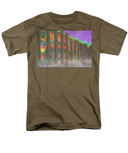 Men's T-Shirt  (Regular Fit) featuring the digital art Forests Of The Night by Wendy J St Christopher