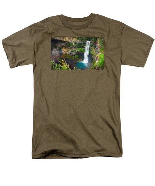 Brandywine Falls, Bc Men's T-Shirt  (Regular Fit) by Heather Vopni