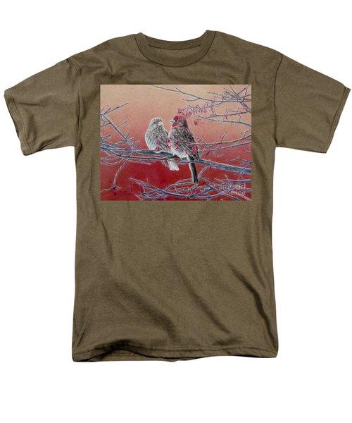 Forever Finch Men's T-Shirt  (Regular Fit) by Pamela Clements