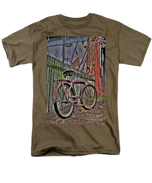 Men's T-Shirt  (Regular Fit) featuring the photograph Forgotten Ride 2 by Jim and Emily Bush