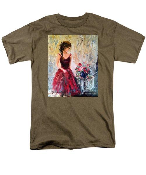 Forgotten Rose Men's T-Shirt  (Regular Fit) by Jennifer Beaudet