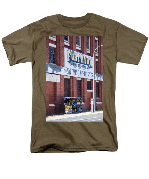 Men's T-Shirt  (Regular Fit) featuring the photograph Fort Knox by Serene Maisey