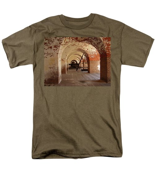 Fort Pulaski II Men's T-Shirt  (Regular Fit) by Flavia Westerwelle
