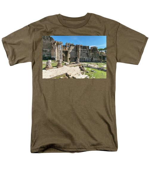 Men's T-Shirt  (Regular Fit) featuring the photograph Forum Of Augustus by Scott Carruthers