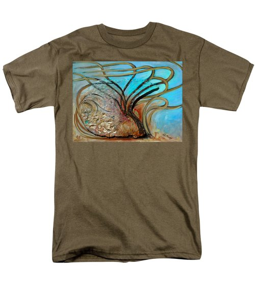 Fossil In The Deep Men's T-Shirt  (Regular Fit) by Suzanne McKee