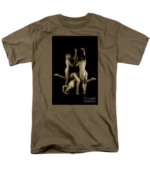 Four Virgins Men's T-Shirt  (Regular Fit) by Robert WK Clark