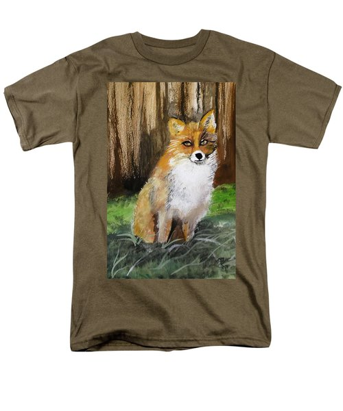 Foxy Lady Men's T-Shirt  (Regular Fit) by Carole Robins