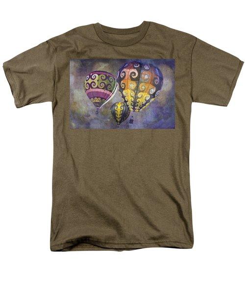 Fractal Trio Men's T-Shirt  (Regular Fit) by Melinda Ledsome