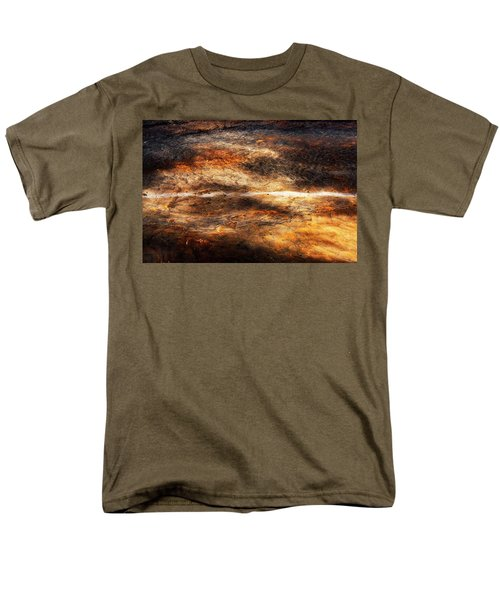 Men's T-Shirt  (Regular Fit) featuring the photograph Fractured by Ryan Manuel